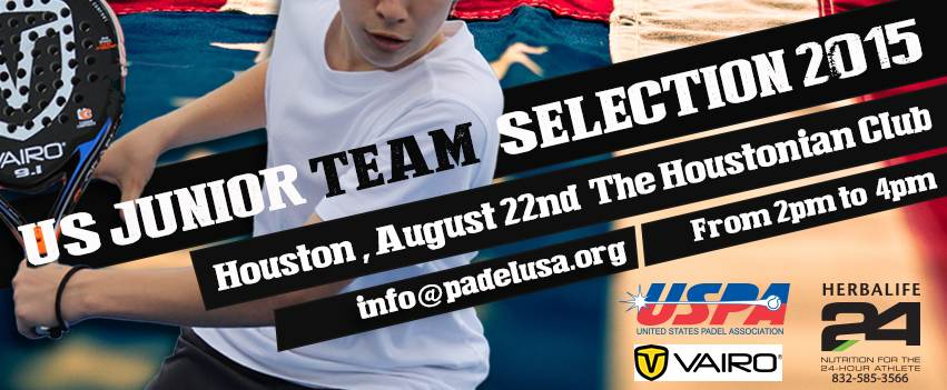 US TEAM SELECTION 2015 The Houtonian Club