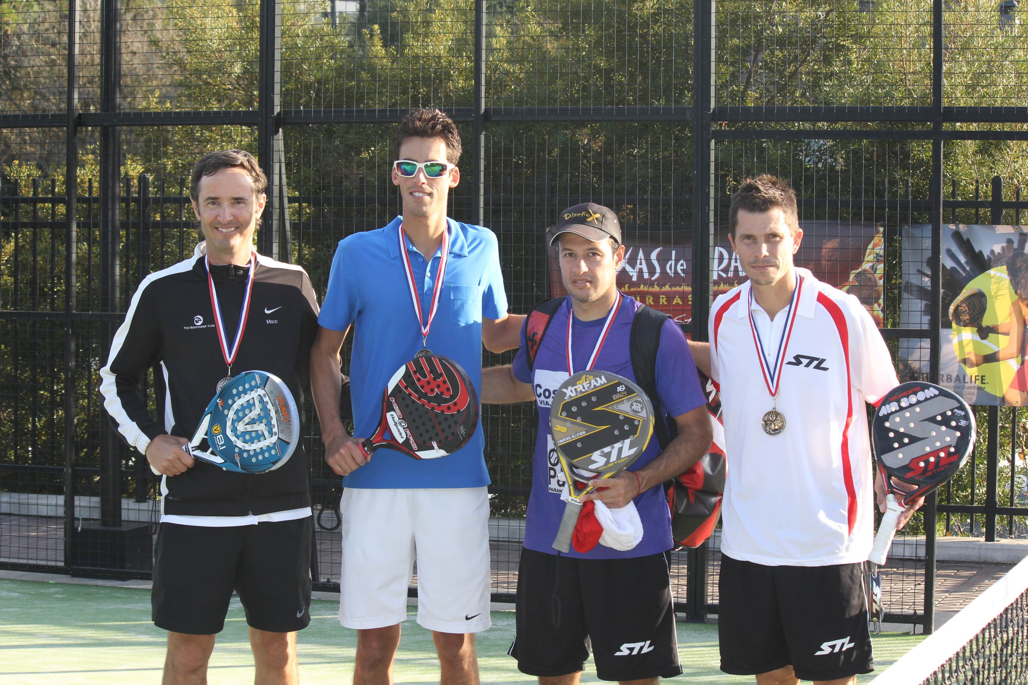 Final Men's: Winners Luis Adolfo Vargas/ Fernando Alarcon Runner up: Francisco Riverol/ Mike May